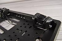 Рамка для номера с парктроником - установка камеры заднего вида, фото 5