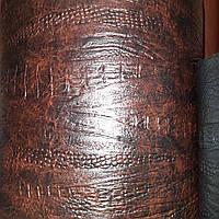 Меблевий шкірозамінник для оббивки м'яких меблів сублімація крокодил-2019, фото 1