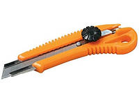 Нож 17-0328 18мм винт. замок Master-tool