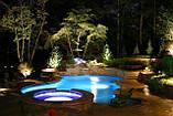 Купель с элементами мозаики. зона спа с плавательным и гидромассажным бассейнами, фото 4