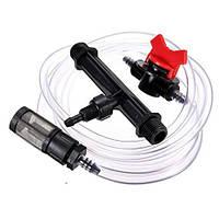 """Инжектор вентури 1"""" с всасывающим комплектом (всасывающая способность 34-279 л/ч)"""