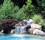 Композитная купель с водопадом, фото 7