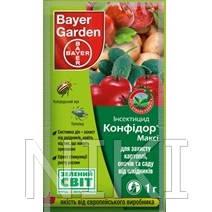 """Инсектицид (1 гр) """"Конфидор"""" картофель / томаты / огурцы / яблоня"""