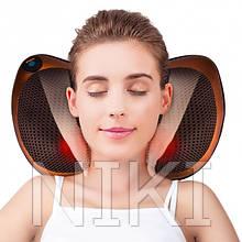 Массажная подушка с инфракрасным подогревом Massage Pillow 8028 (5290)