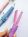 Плойка - утюжок Gemei GM-2801 2в1, плойка, Утюжок выпрямитель для волос (2 в 1) GEMEI GM-2801 (5129), фото 2