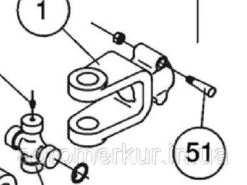 Вилка 6, 1-3/4z20 341-805 Schulte, фото 2