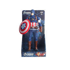 Фигурка для игры 0086A-2 (Капитан Америка) AV, супергерой, 28см, муз