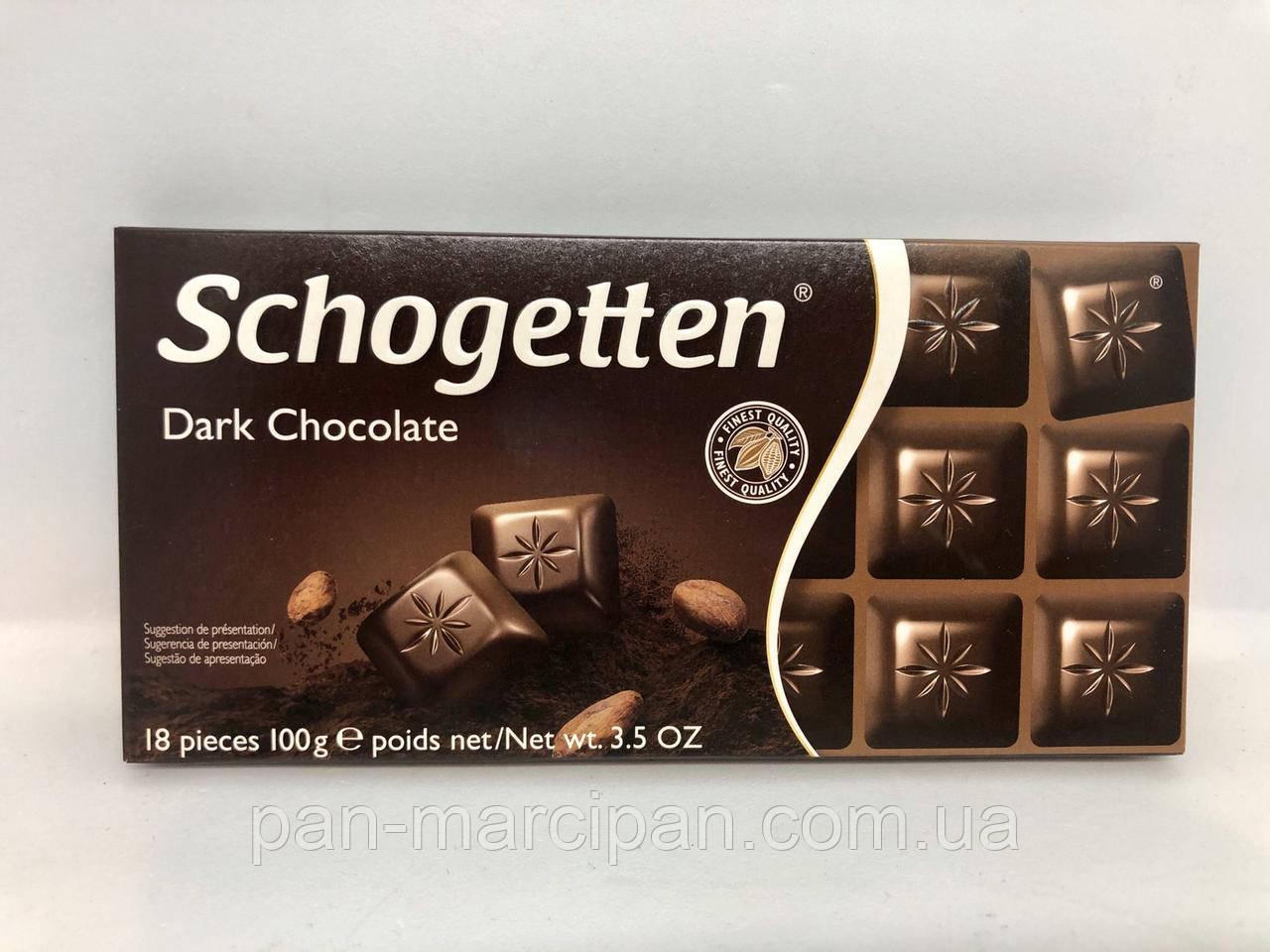Шоколад Schogetten Dark Chocolate 100 г