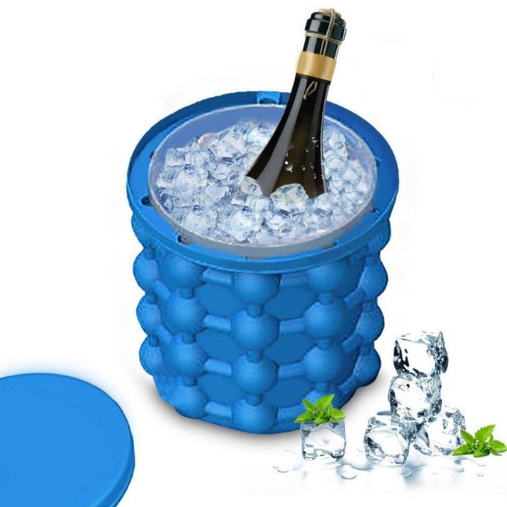 Силиконовая емкость для замораживания и хранения льда ICE Cube Maker Genie