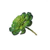 Цветок искусственный Суккулент эониум 13см 109702