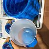 Силиконовая емкость для замораживания и хранения льда ICE Cube Maker Genie, фото 5