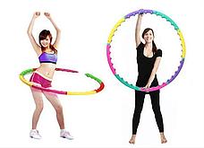 Массажный хулахуп для похудения и коррекции талии Massage Hoop 1108 диаметр 96 см, массажный обруч, фото 3