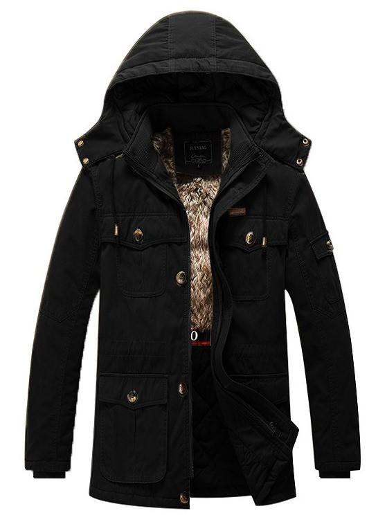H.T.Niao original 100% хлопок Мужская куртка парка