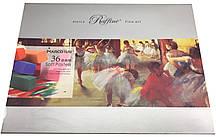 Сухая пастель Marco 36 цветов в подарочной коробке