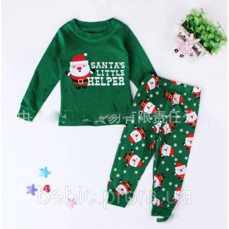 Пижама детская новогодняя Рост:90-100 см