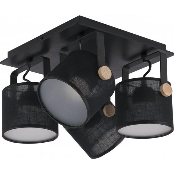 Спот TK Lighting 1394 Relax Black Led