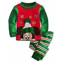 Пижама детская новогодняя Mickey Рост: 90-95 см