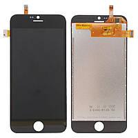 Экран (дисплей,lcd) Blackview A6 Ultra с тачскрином (сенсором,touchscreen) черный