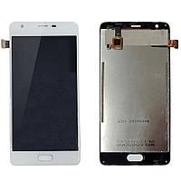 Экран (дисплей,lcd) Blackview A9 Pro с тачскрином (сенсором,touchscreen) белый