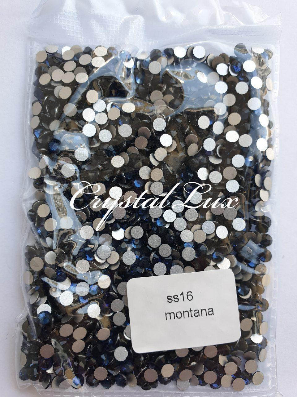 "Стрази ss16 Montana (4,0 мм) 100шт ""Crystal Premium"""