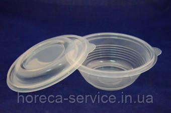 Супница прозрачная с крышкой АПР-МС-350 1ящ/540шт, фото 2