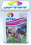 Конструктор Сказочный вечер Золушки 367 деталей  JVToy 15001 серия Принцессы, фото 2
