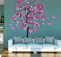 Декоративная  наклейка дерево  (175х160см)