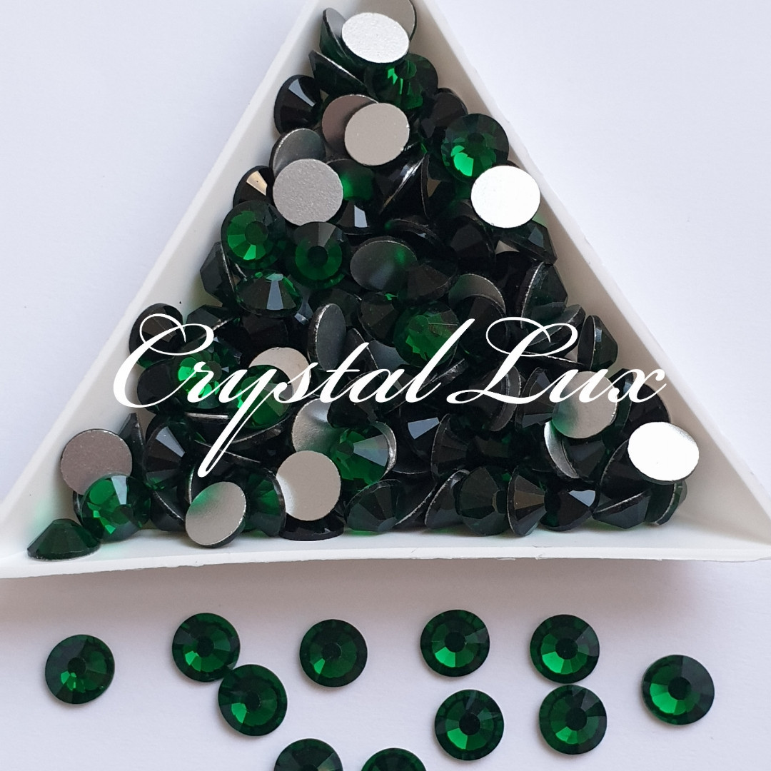 "Стразы ss20 Emerald (5,0мм) 100шт ""Crystal Premium"""
