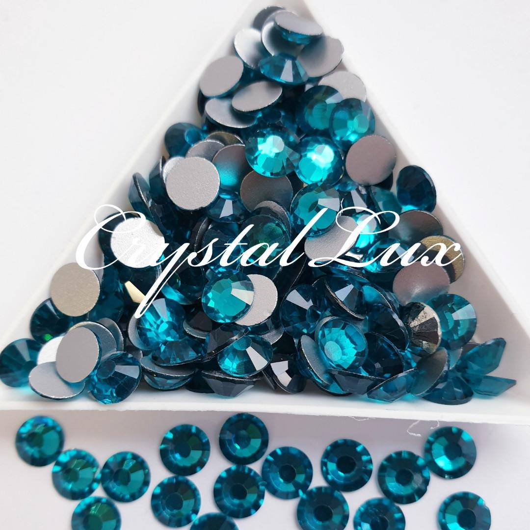 "Стразы ss16 Blue Zircon (4,0мм) 100шт ""КРИСТАЛЛ"""