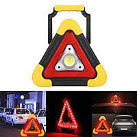 Многофункциональный фонарь-прожектор с аварийной подсветкой Hurry Bolt HB-6609 Yellow