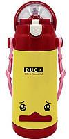 Детский термос термочашка STENSON Animal 350 мл Утка, КОД: 1250003