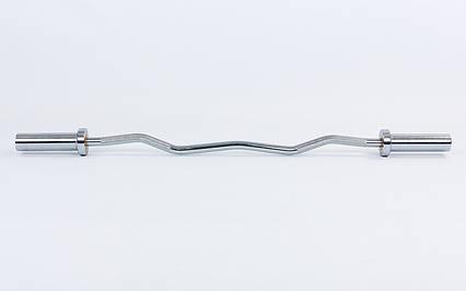 Гриф олимпийский W-образный 120 см с подшипником (50 мм), фото 2