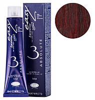 66/58 глубокий темный блондин красный рубин, стойкая крем-краска для волос без аммиака 60 мл