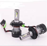 Комплект автомобильных LED ламп головного света H4 Autolion  V8 CREE 6000K 9-32В 60Вт