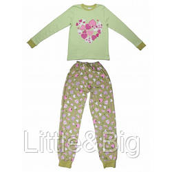 Пижама Valeri-Tex 1827-55-090-014  Салатовый
