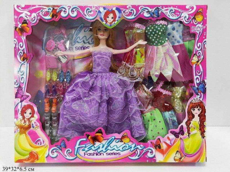 Кукла 30см с нарядами и аксесесуарами 6869-24S