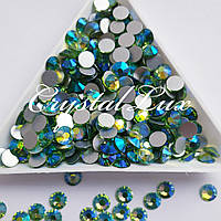"Стразы ss16 Peridot AB (4,0мм) 100шт ""Crystal Premium"""