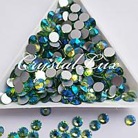 "Стразы ss20 Peridot AB (5,0мм) 100шт ""Crystal Premium"""