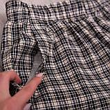 Чоловічі шорти в клітинку великого розміру (Льон), фото 2