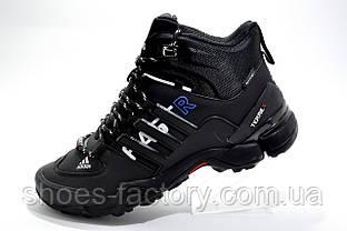 Зимние кроссовки в стиле Adidas Terrex Fast x Gore-Tex, Black