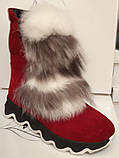 Ботинки молодежные зима из натуральной замши от производителя ЛУ514, фото 2