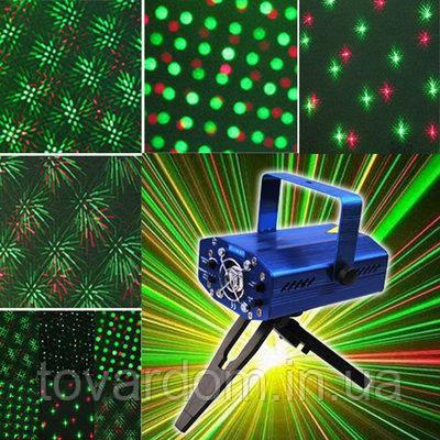Новогодний лазерный проэктор