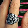 Серебряное кольцо Лев - Мужское серебряное кольцо со Львом, фото 6