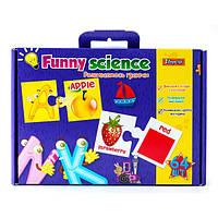 "Набор для творчества 1Вересня ""Funny science"", английский алфавит, 953058"