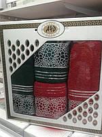 Набор махровых полотенец Турция 301 ПТ