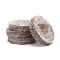 Торфяные таблетки ø41мм, толщина 9мм