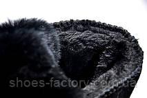 Женские Угги в стиле Dior UGG, Black (Натуральная замша), фото 2