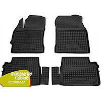 Резиновые коврики в салон Toyota Auris 2013- тойота аурис (Avto-Gumm) Автогум