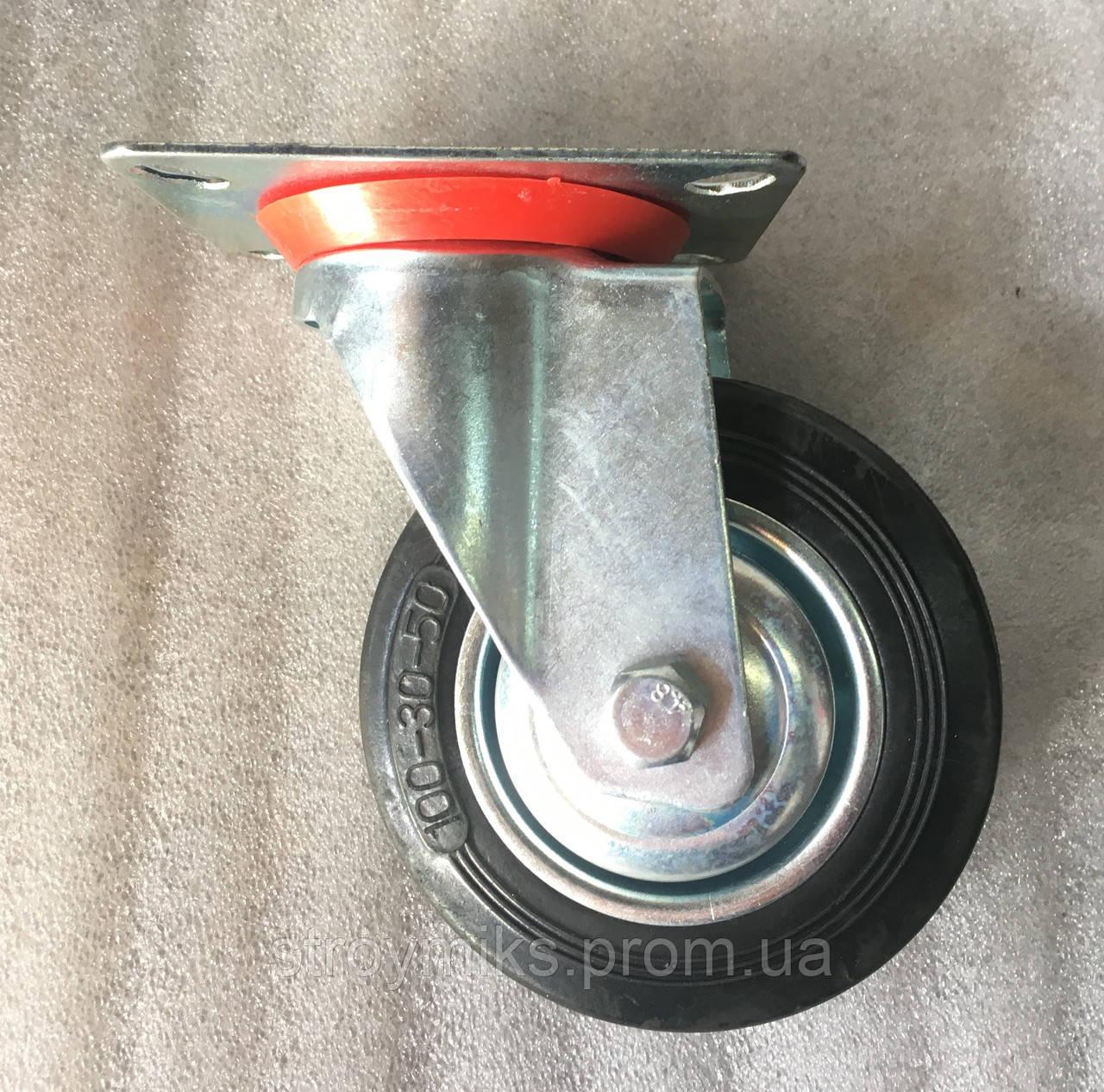 Колесо 100/30-50 с поворотным кронштейном