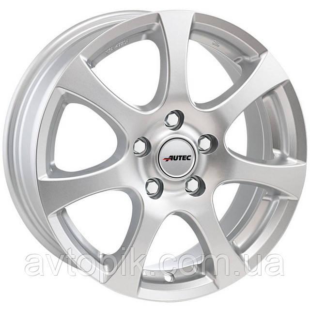 Литые диски Autec Zenit R15 W6 PCD4x108 ET46 DIA63.4 (brilliant silver)